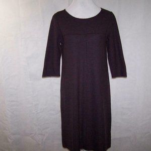 Eileen Fisher Dress PM Wool Pullover 3/4 Sleeves